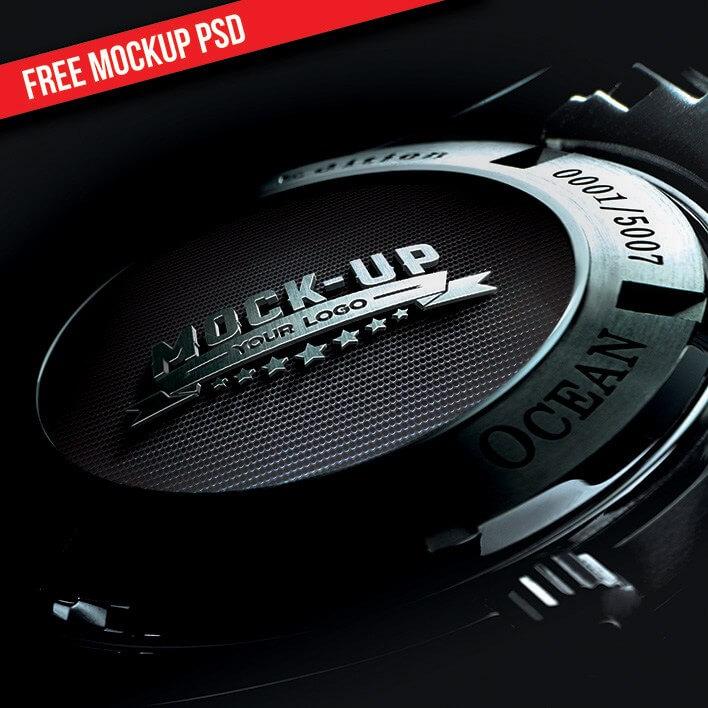 Free Psd Logo Mockup