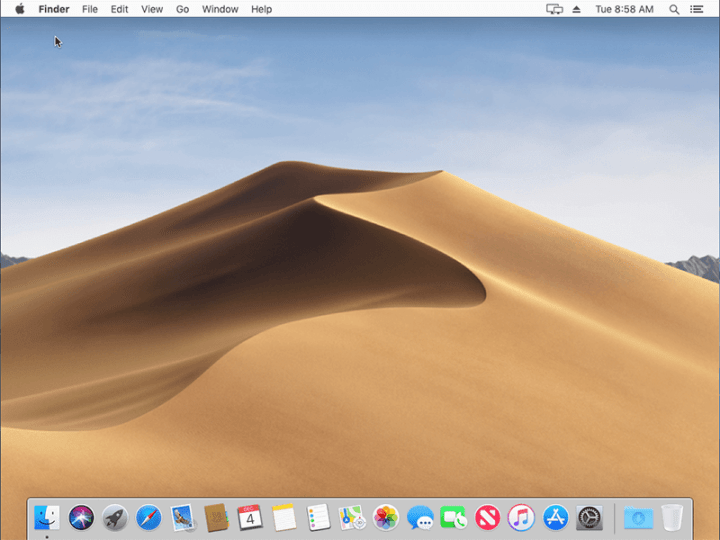 macOS 10.14 Mojave on VirtualBox