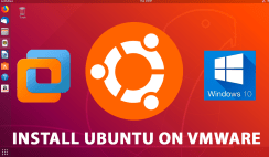 install ubuntu on vmware