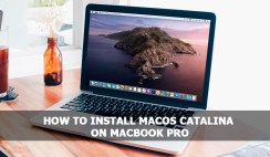 Install macOS Catalina on MacBook Pro