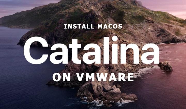 Install macOS Catalina on VMware Windows 10