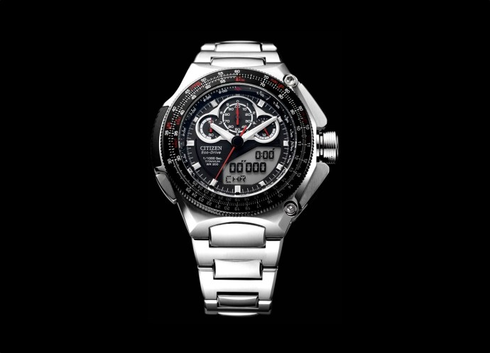 Citizen Eco-Drive Super Chronograph 1000