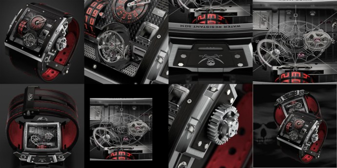 HD3 Complication Bi-Axial Black Pearl