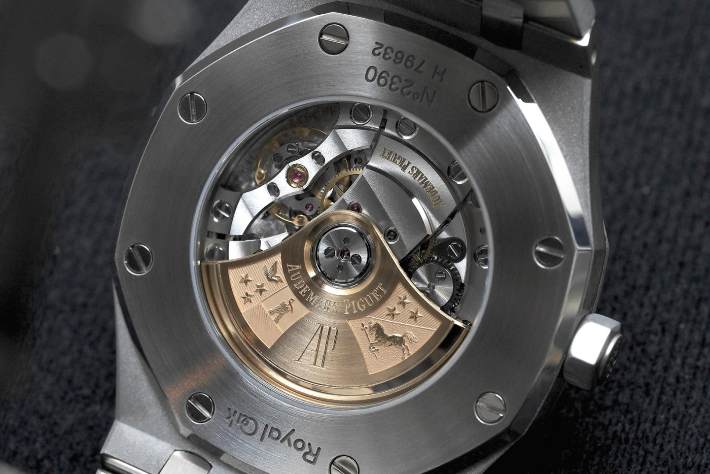 Audemars Piguet Royal Oak 41 caseback