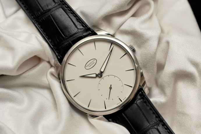 Parmigiani Fleurier Tonda 1950 white gold with cream dial