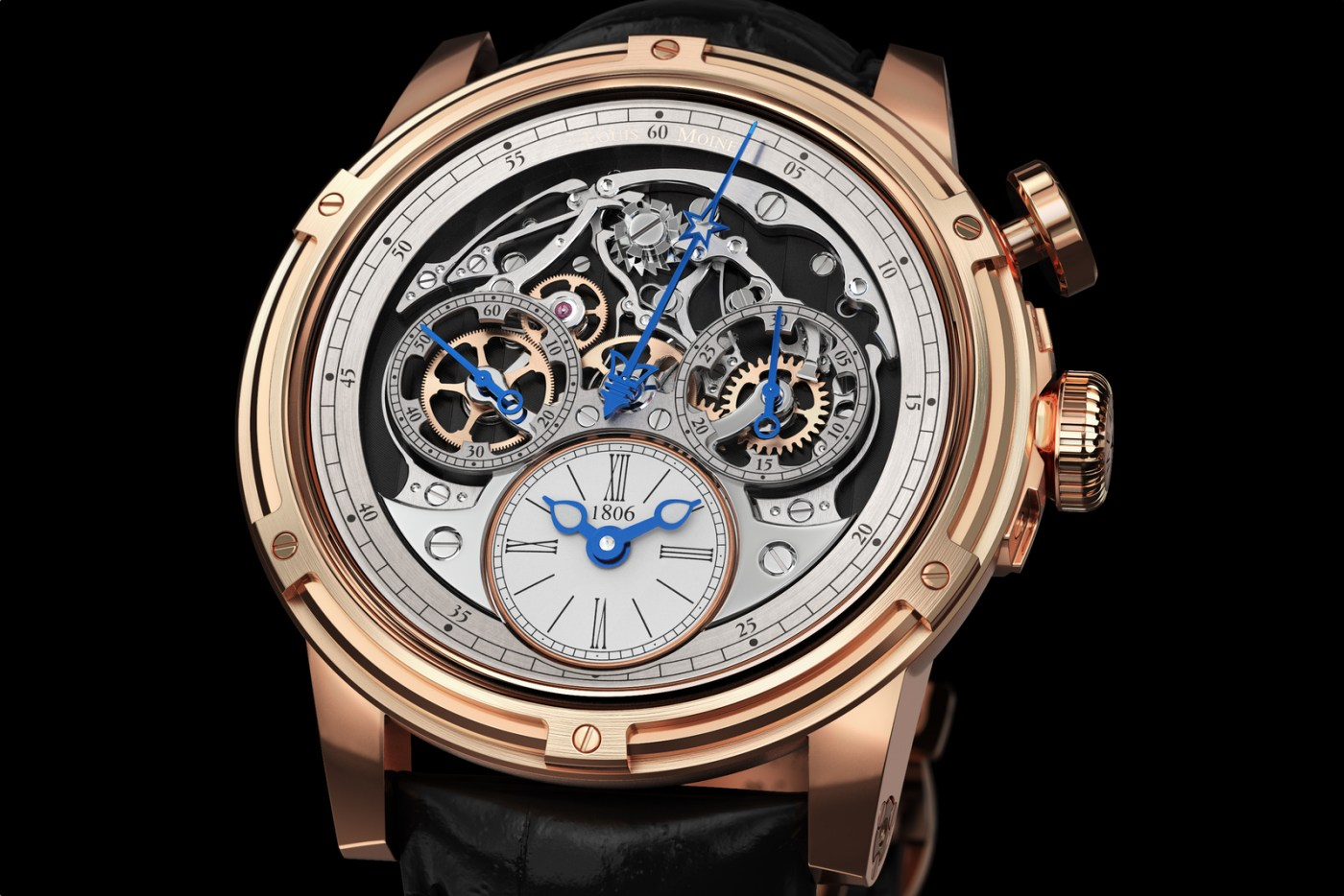 Louis Moinet Memoris Close-Up Official Brand image