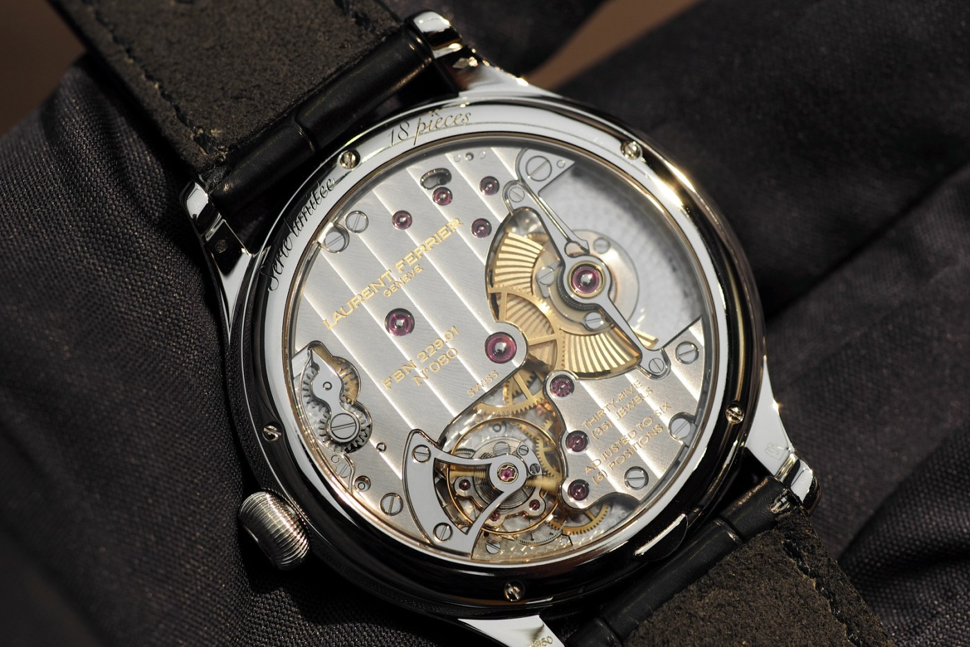 Laurent Ferrier caseback