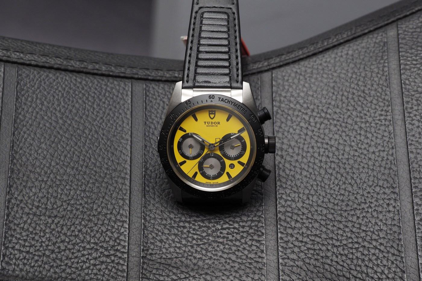Tudor Ducati Yellow Chrono Fastrider