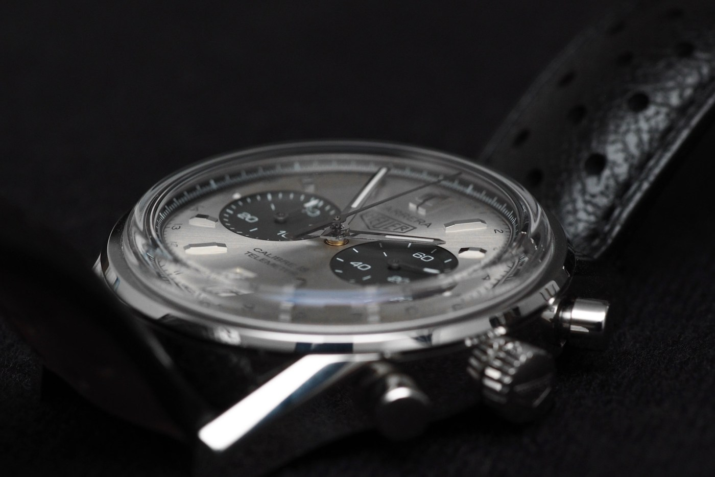 TAG Heuer Carrera Calibre 18 Automatic Chronograph domed crystal