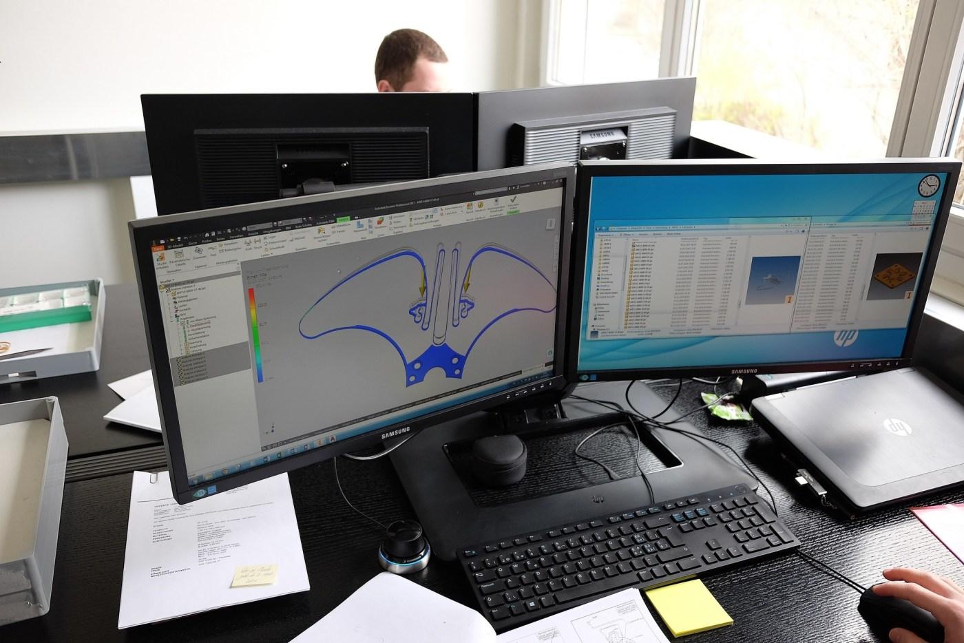 Armin Strom design department