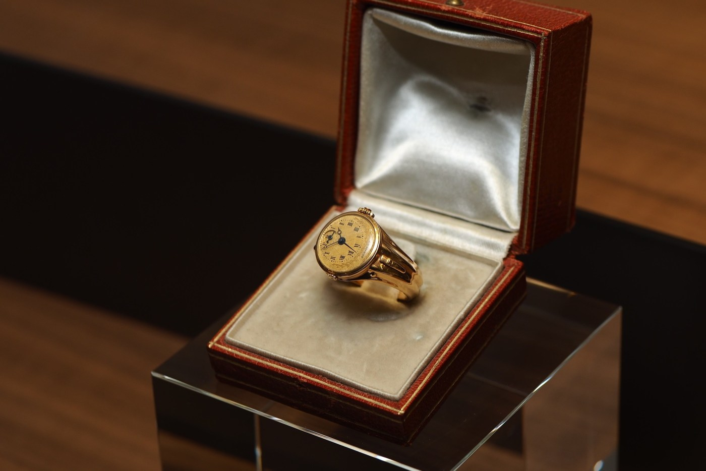 Breguet No. 180 Gold Ring Watch