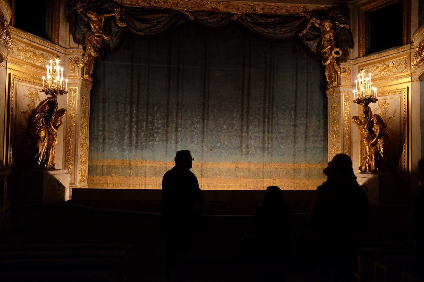 Private theater built for Marie-Antoinette inside the Petit Trianon