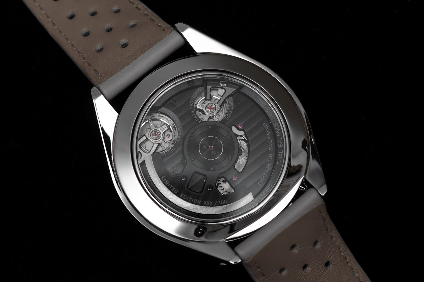 TAG Heuer Mikograph Caseback