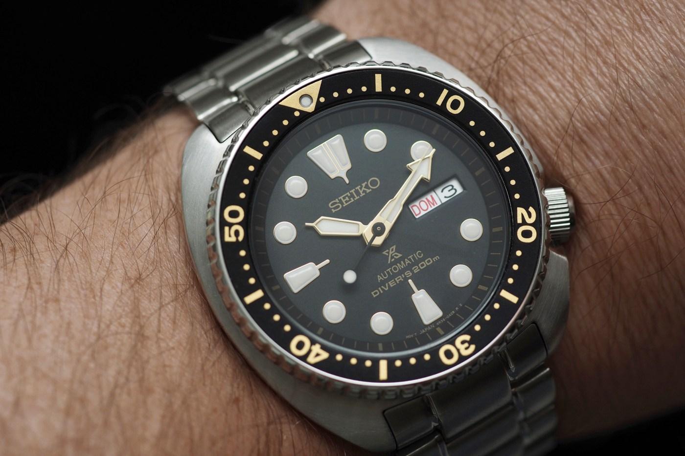 Seiko Prospex SRP775 Diver wristshot