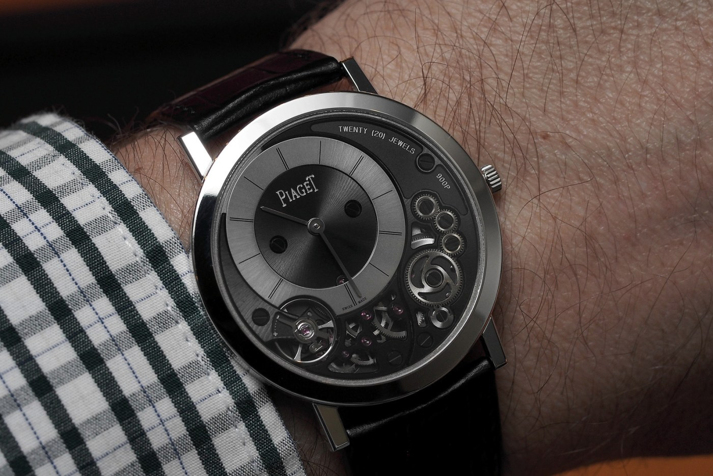 Piaget Altiplano 900 wristshot