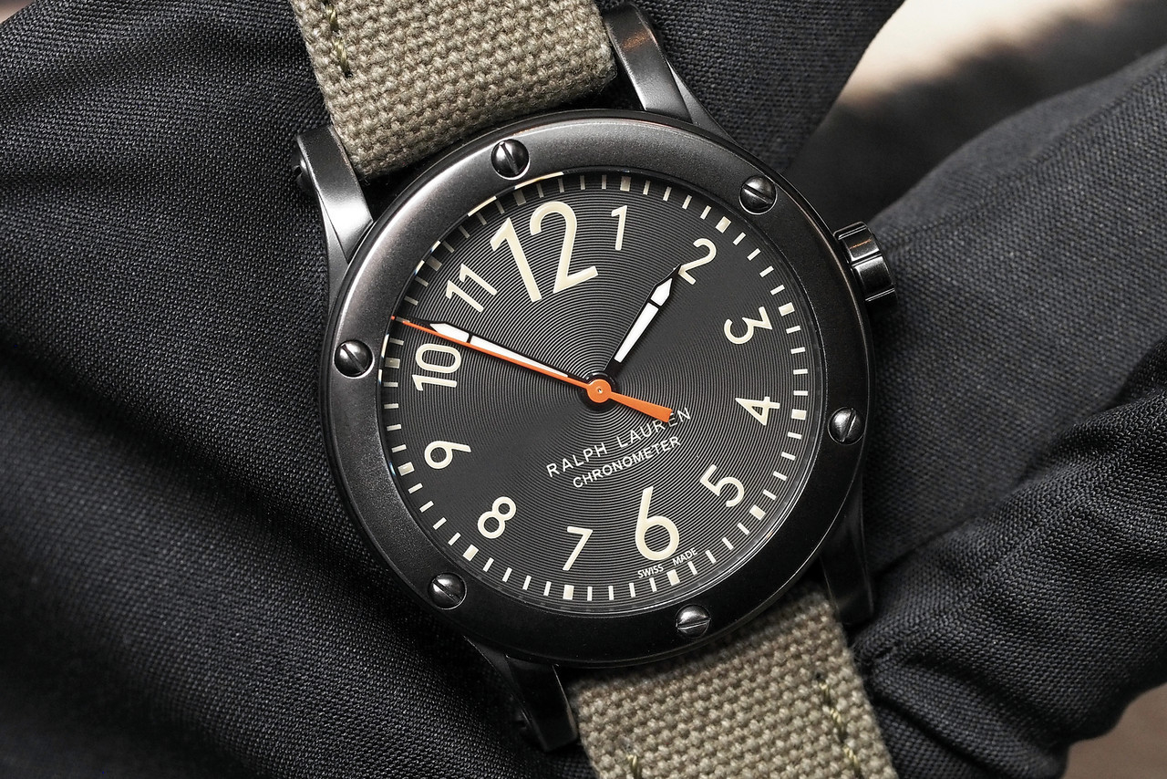 Ralph Lauren 39mm Chronometer Safari SIHH 2014