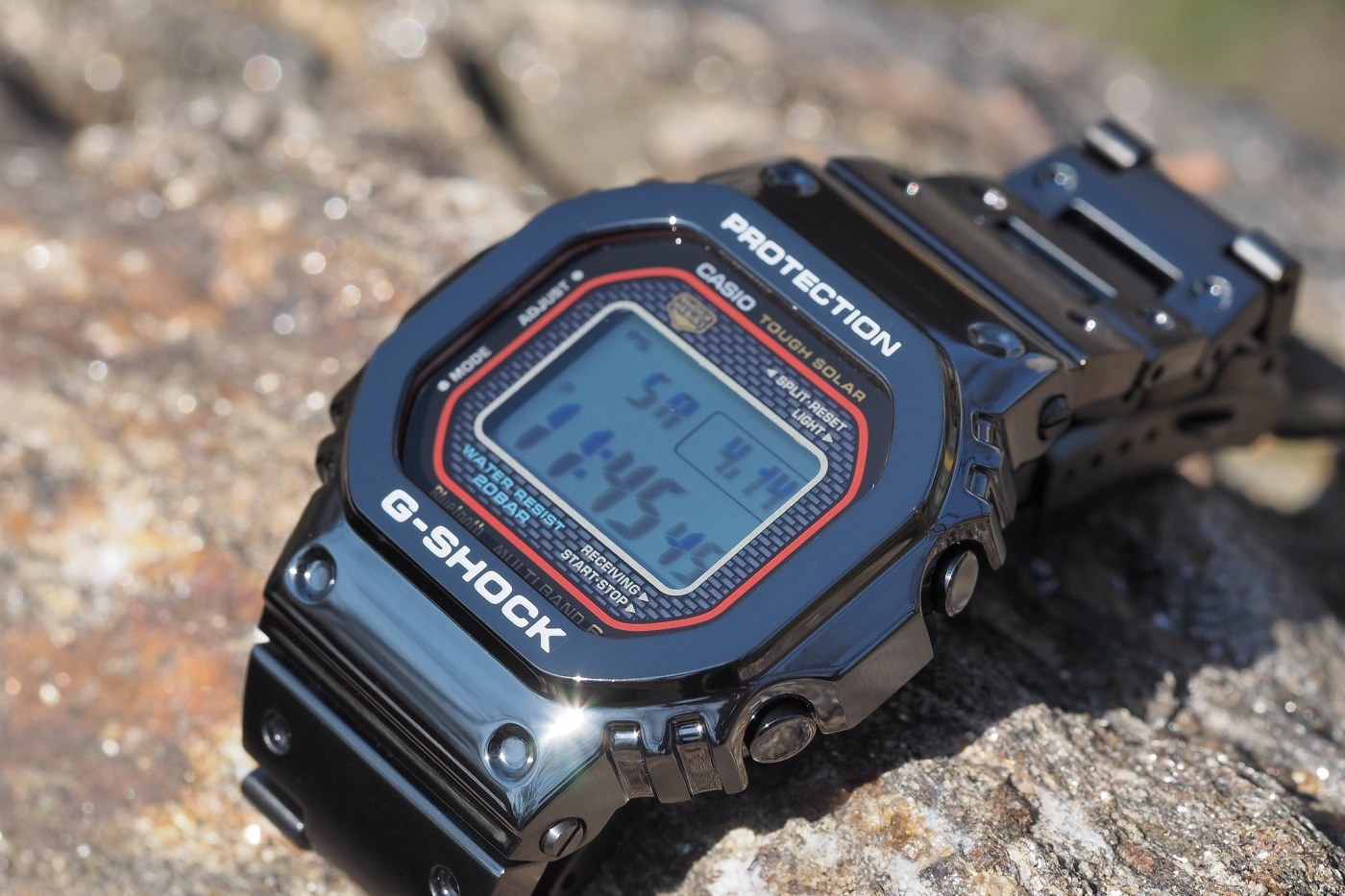 G-Shock Full Metal 5000 Series Black PVD Porter Limited Edition