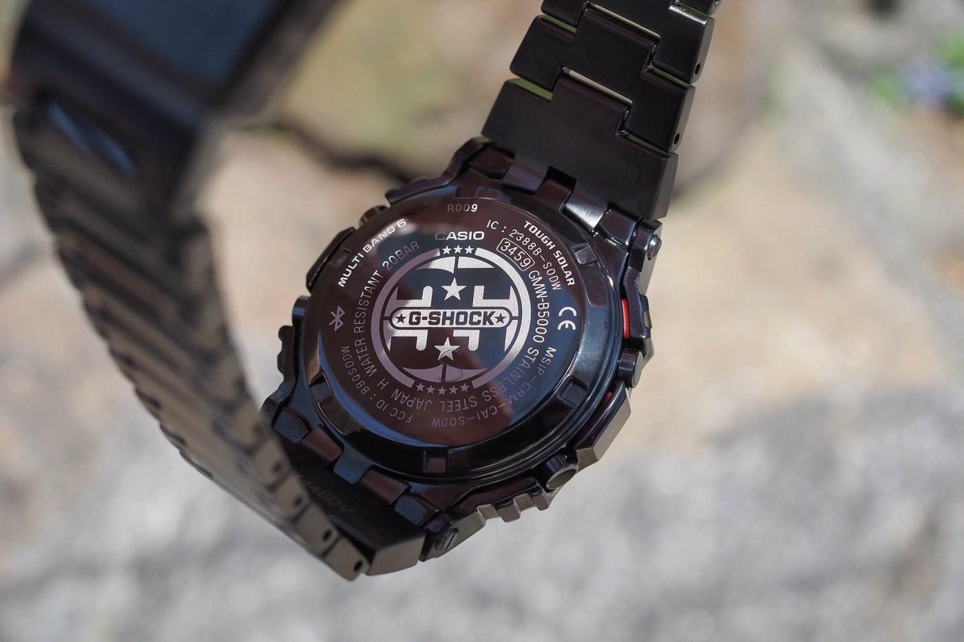 G-Shock Full Metal 5000 Series Black PVD Porter Limited Edition caseback