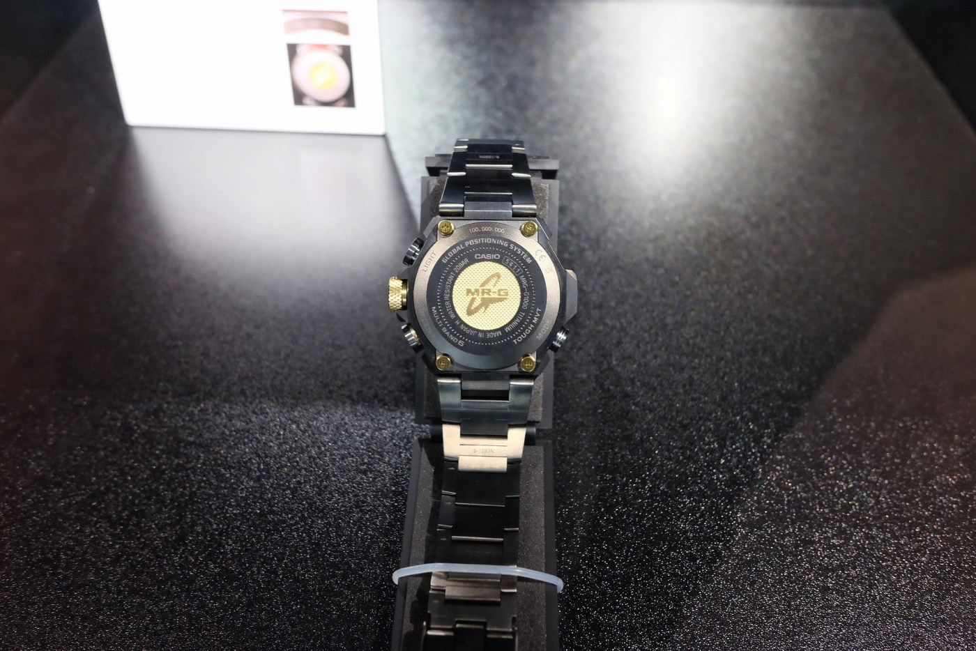 One hundred millionth Casio G-Shock