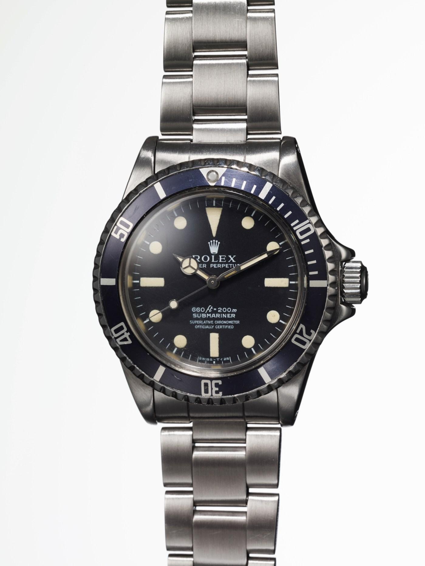 Phillips Steve Mcqueen Rolex-Submariner Ref. 5513 front