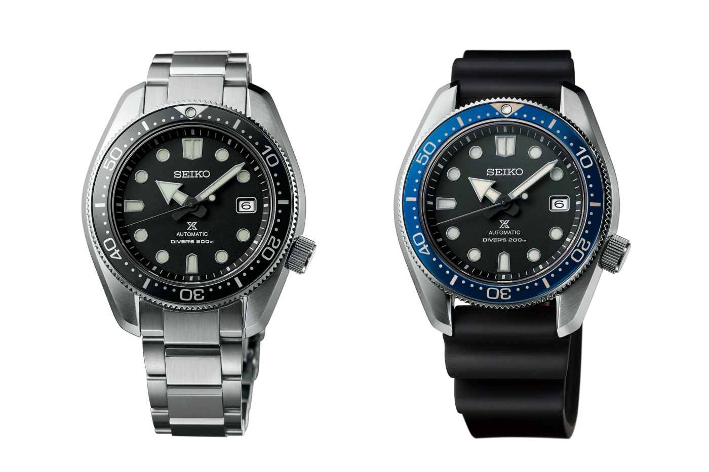 Seiko SPB077 and SPB079 dive watches