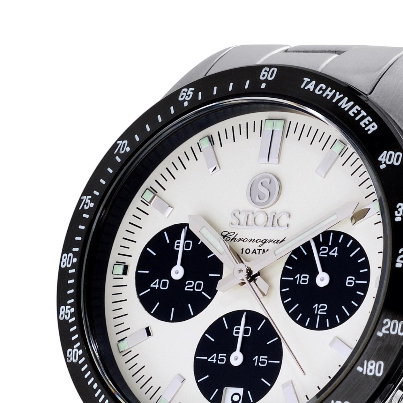 Stoic Chronograph dial detail
