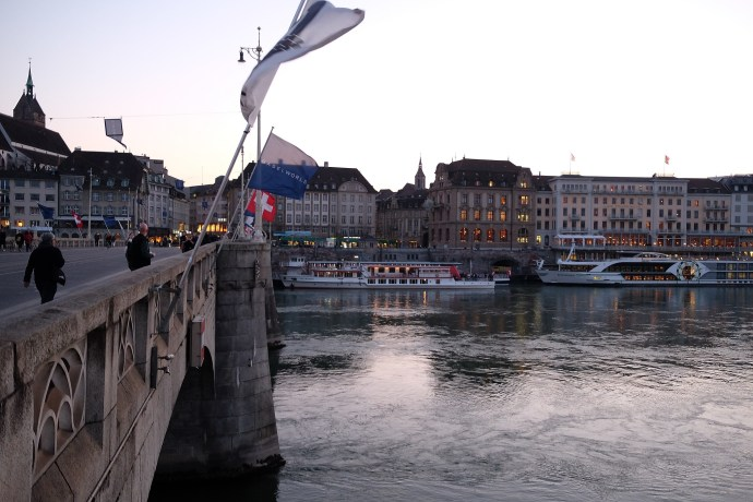 Baselworld Rhine river flag shot