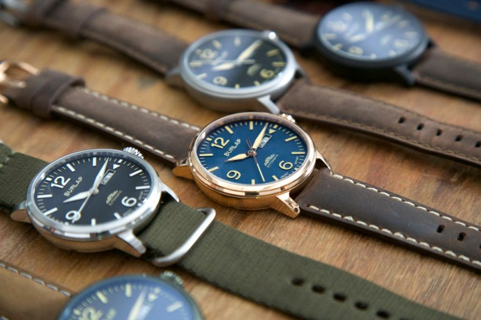 Burlap Automatic Pilot watch