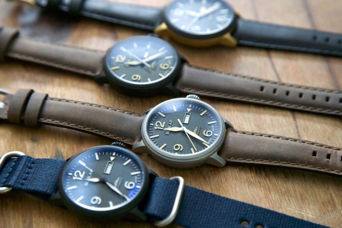 Burlap Automatic watches 2018