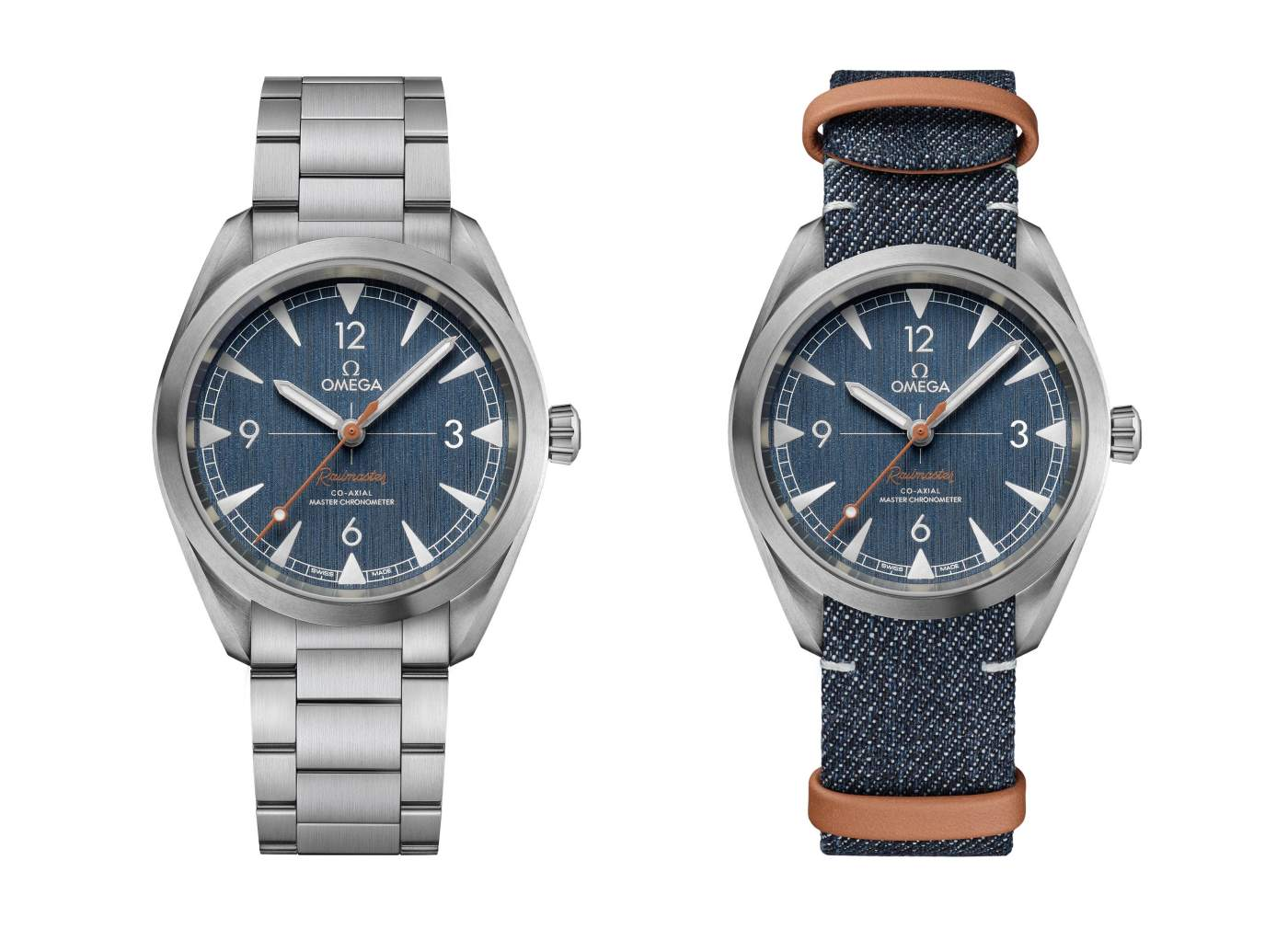 Omega Railmaster Co-Axial Master Chronometer Denim