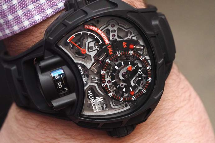Hublot MP-12 Key of Time Skeleton All Black