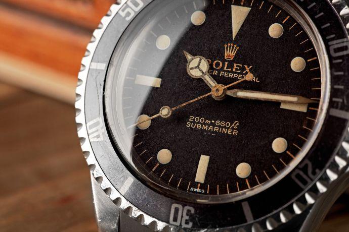 Rolex Submariner 5513 Meters First