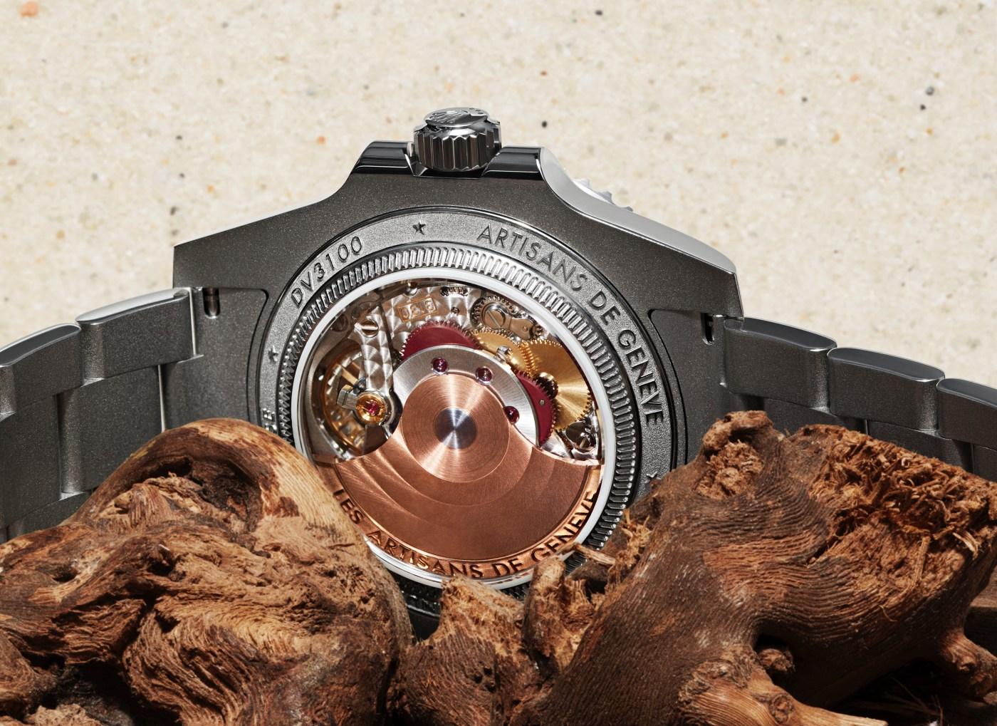Artisans de Genève Rough Matte Diver caliber 3130 gold rotor