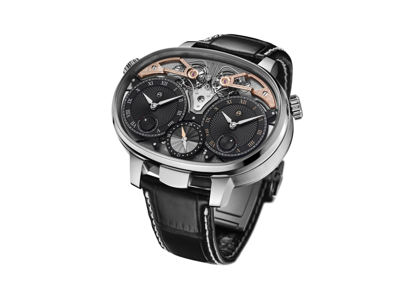 Armin Strom Dual Time Resonance Three-Quarter angle
