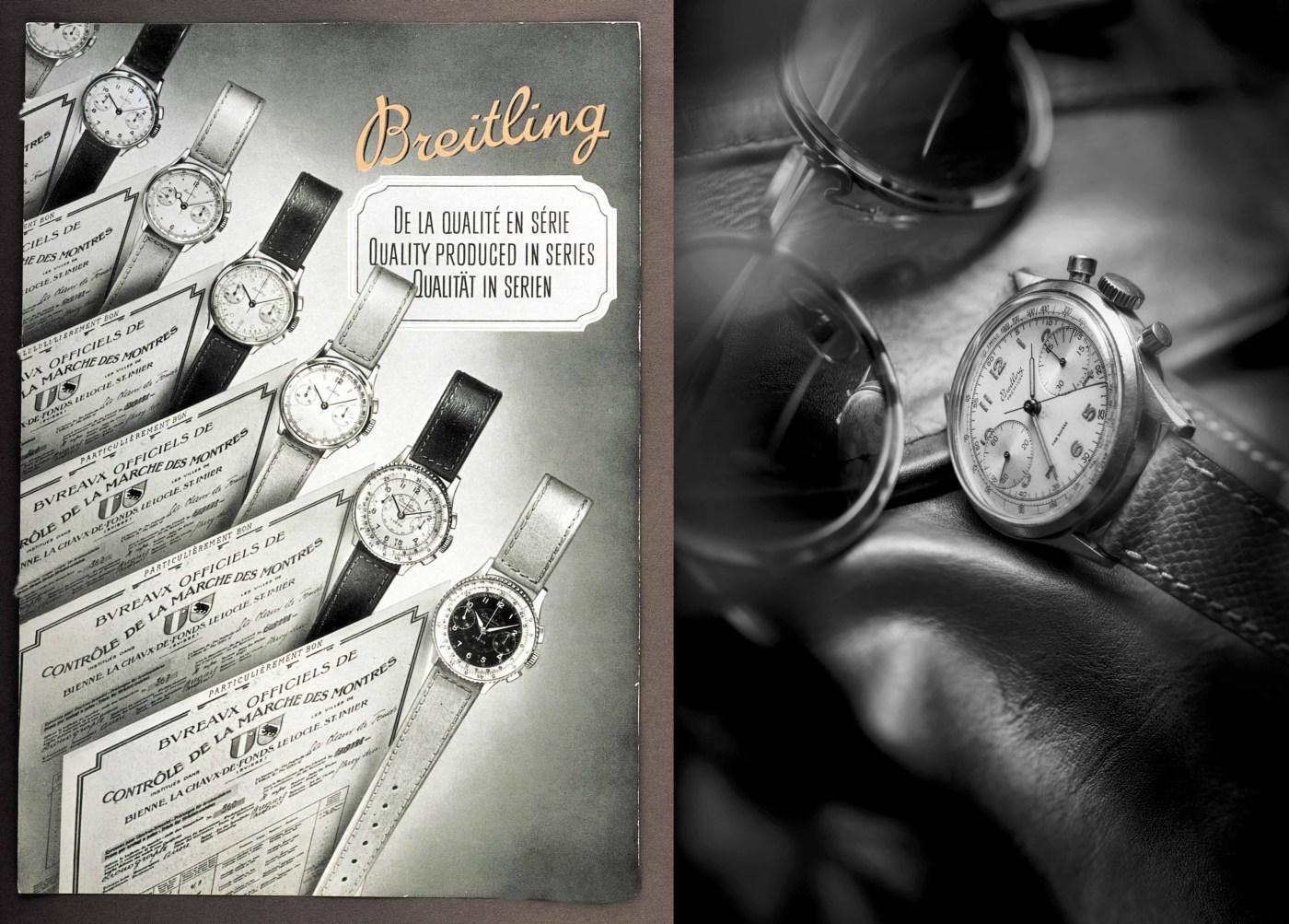 Breitling Premier 1940s images