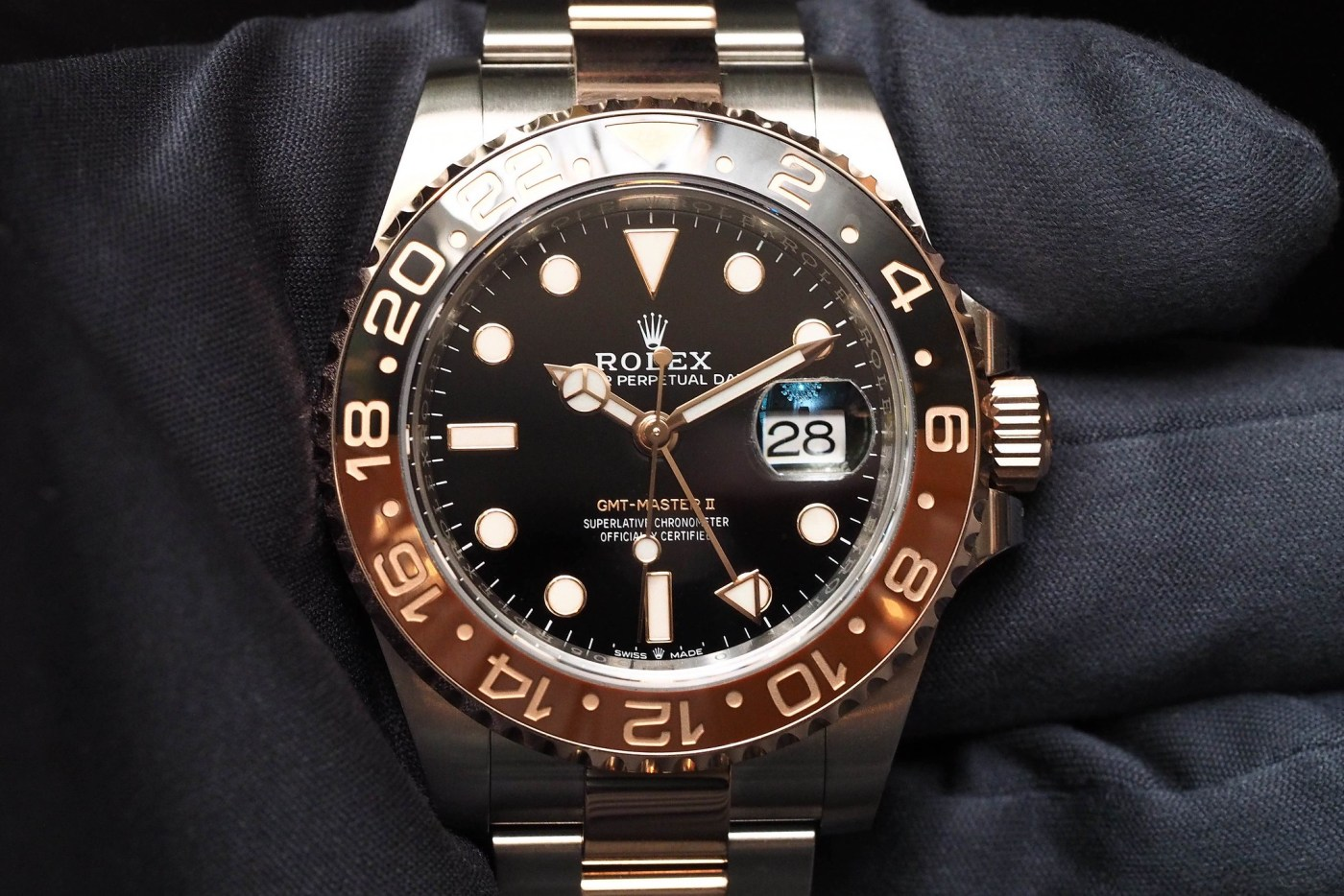Rolex Oystersteel and Everose Gold GMT-Master II 2018