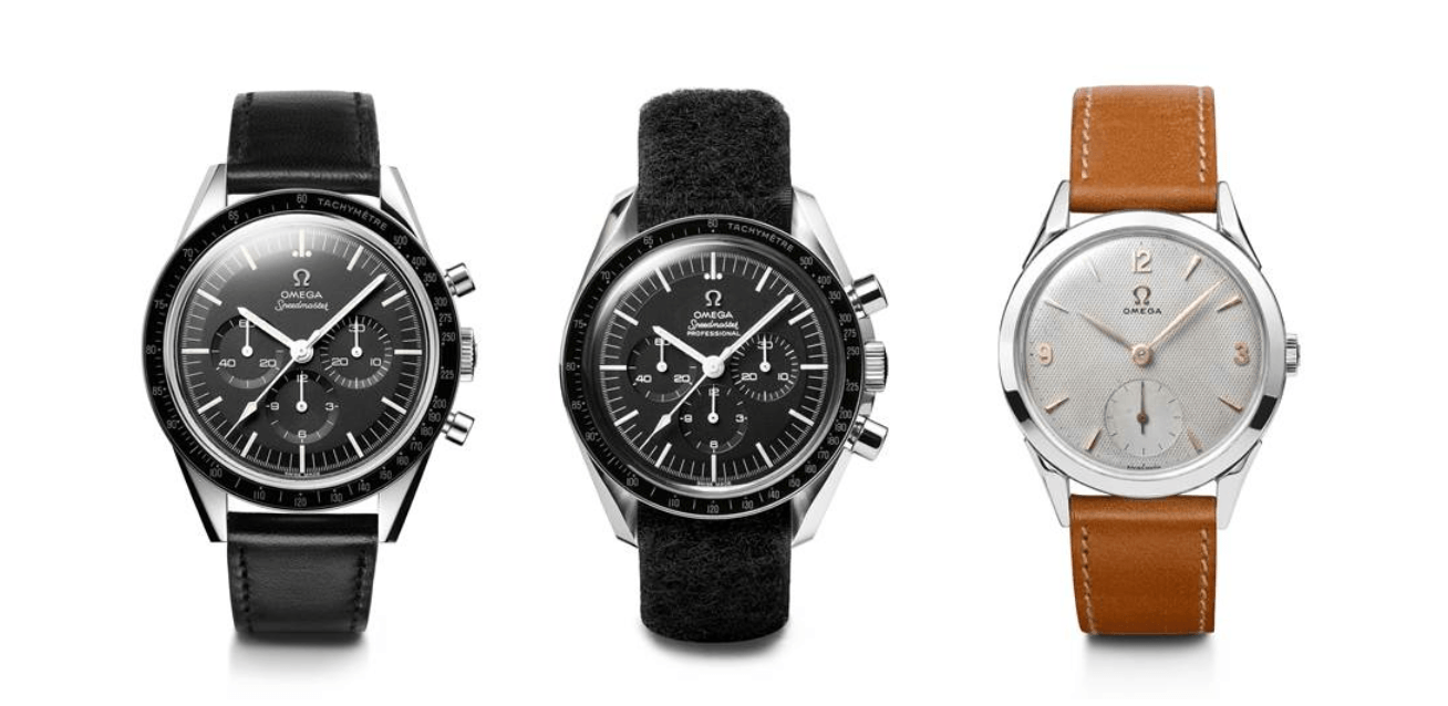 Three Omega Wristwatches seen in First Man movie