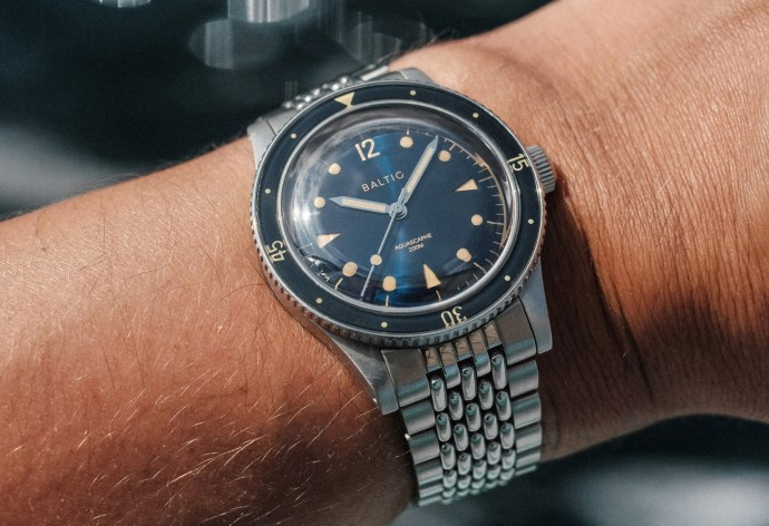 Baltic Aquascaphe wristshot