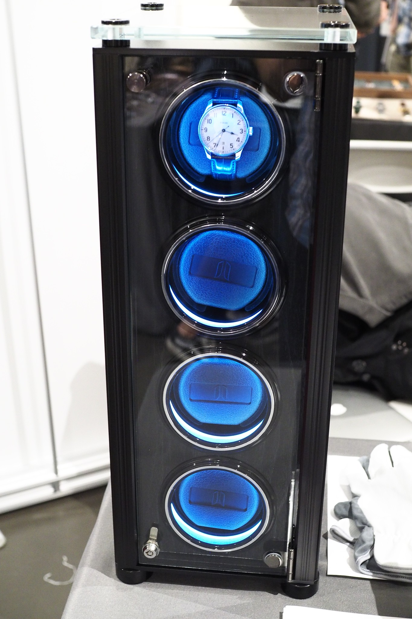 Juvo 4 Watch Winder Tower