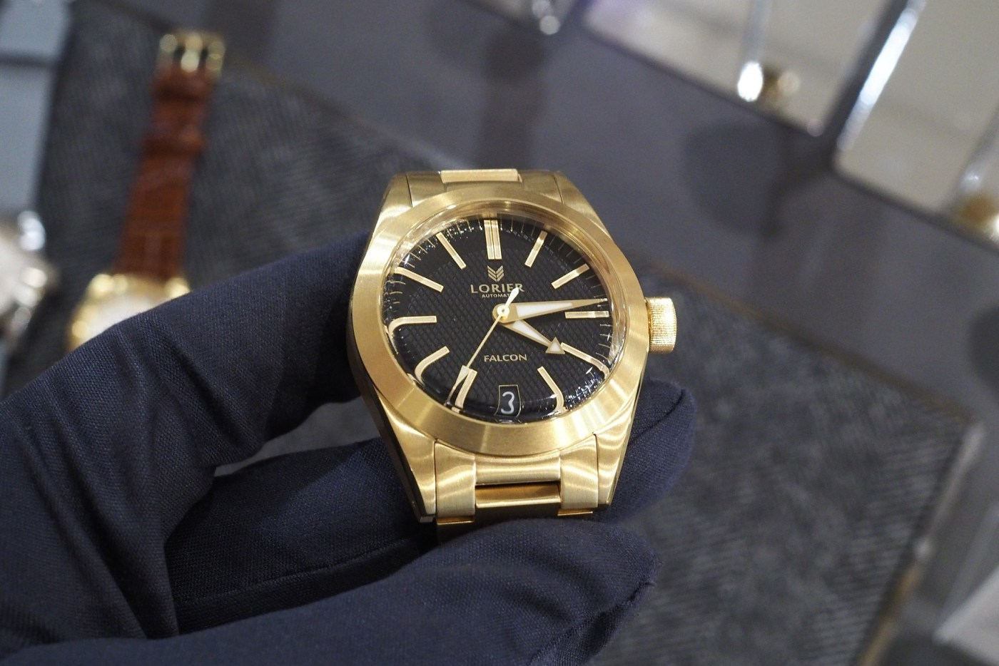 Lorier Gold Plated Watch