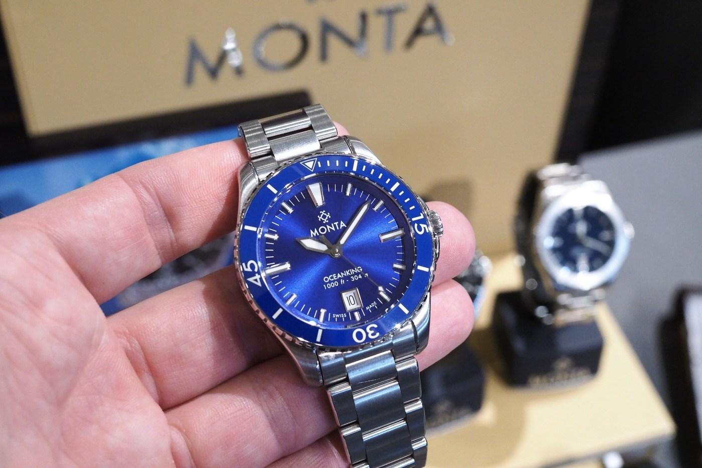 Monta Ocean King diver