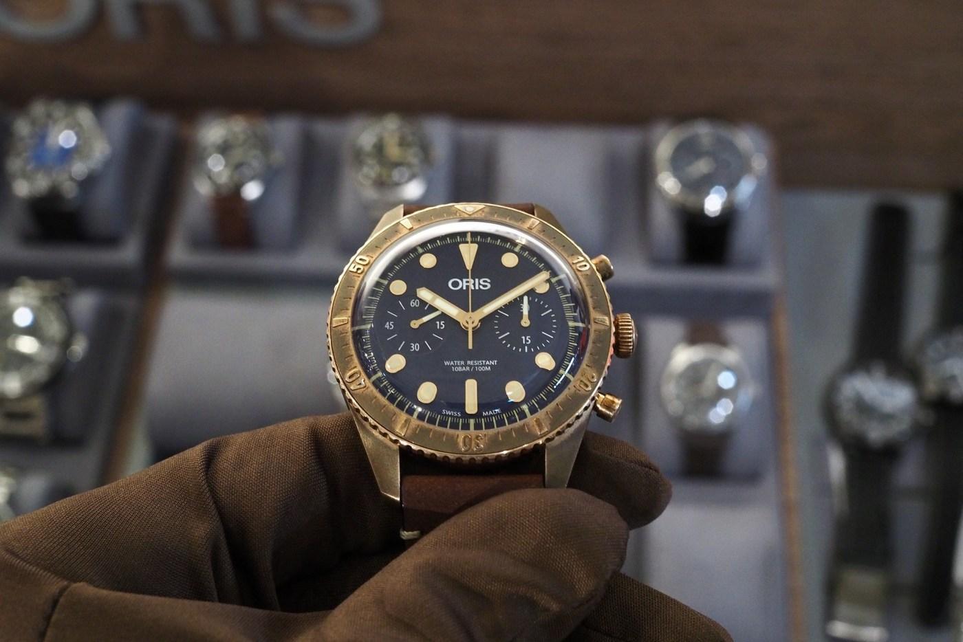Oris Carl Brashear Bronze Chronograph