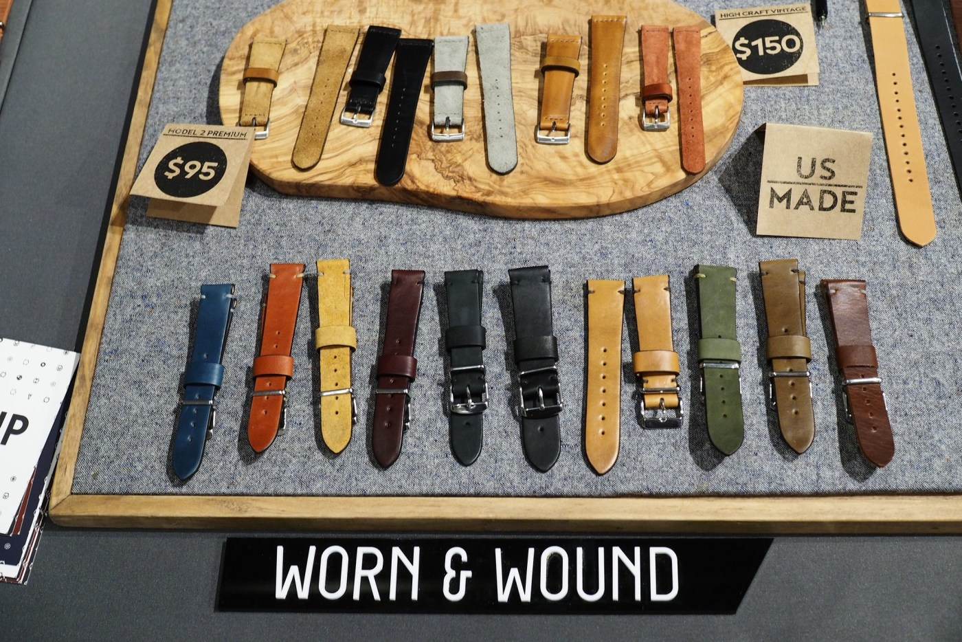Worn & Wound Premium leather watch straps