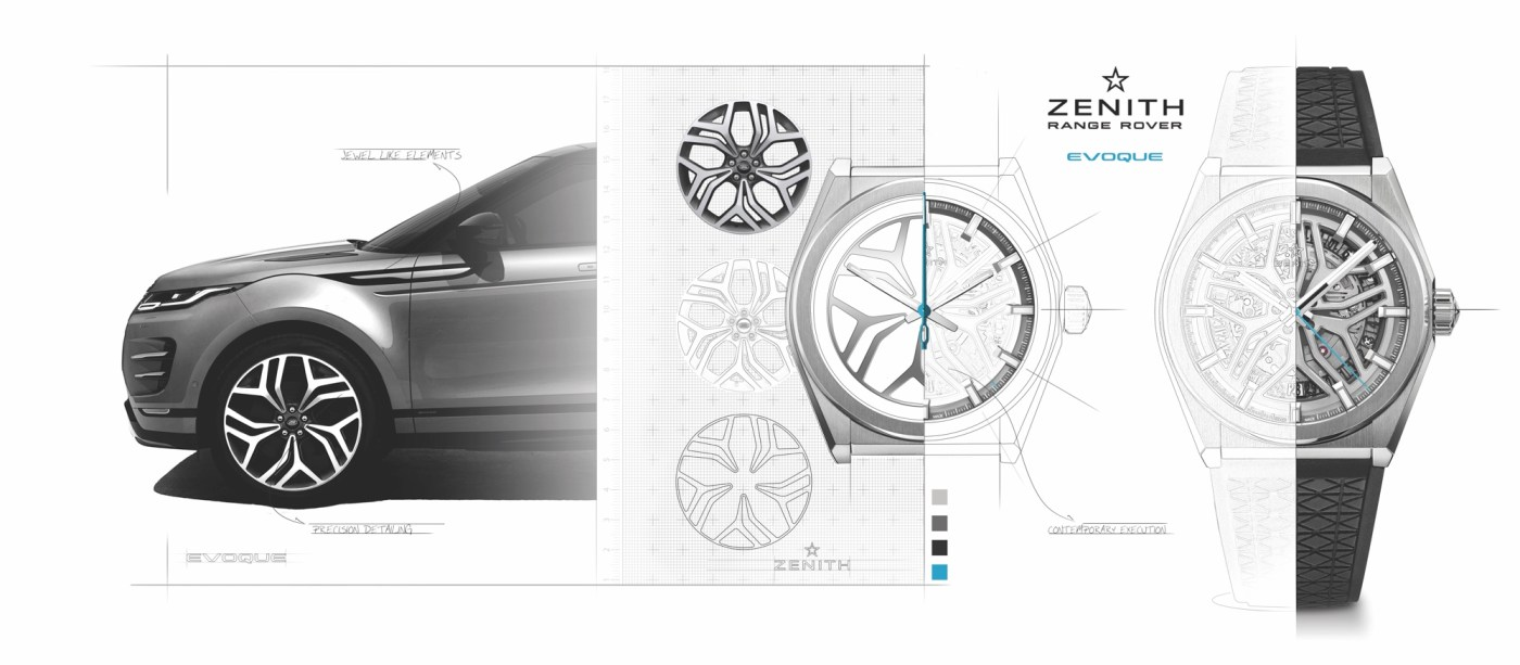 ZENITH x RANGE ROVER-Evoque-watch-designs