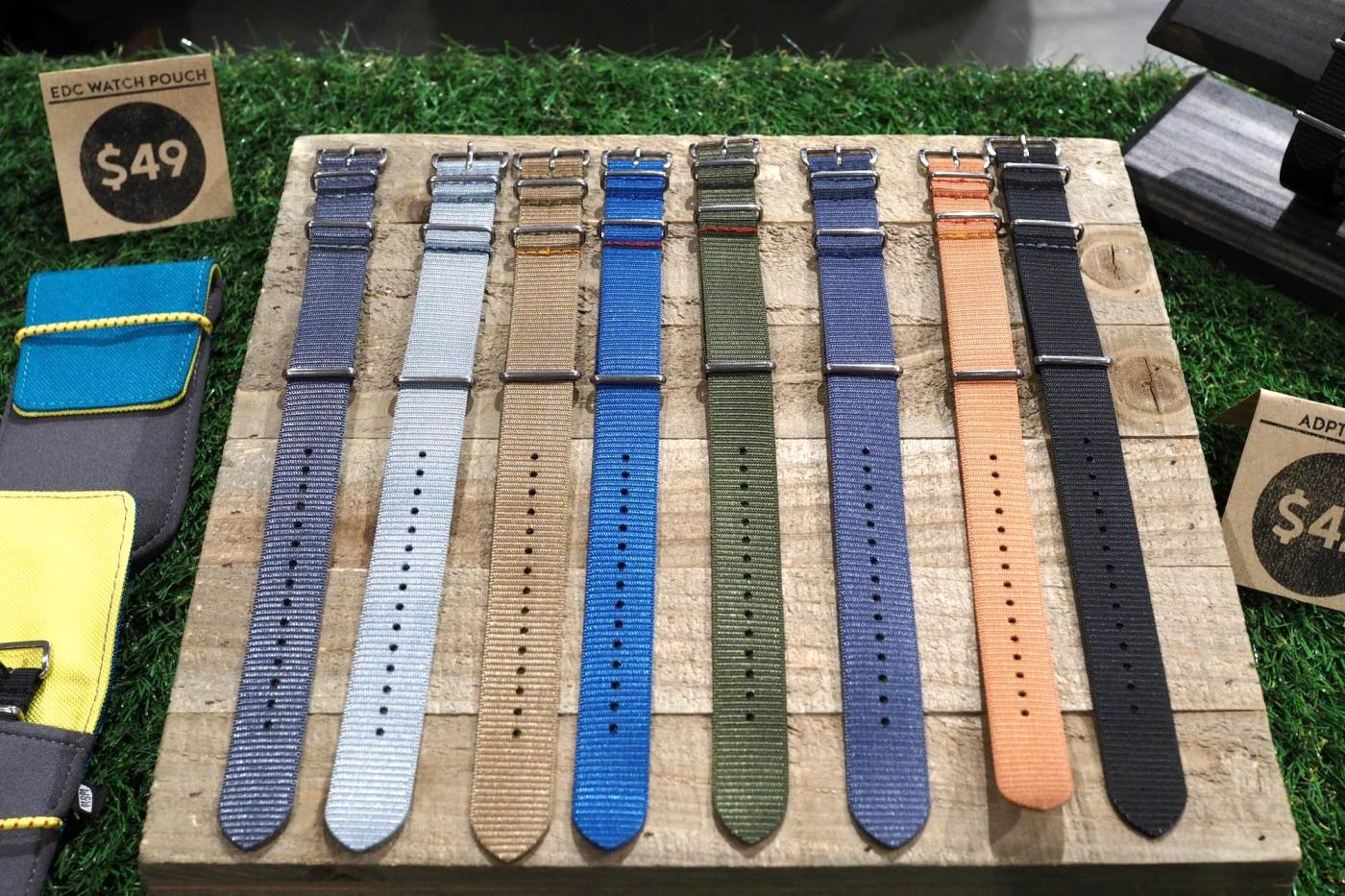 ADPT Nylon Watch Straps by Worn & Wound