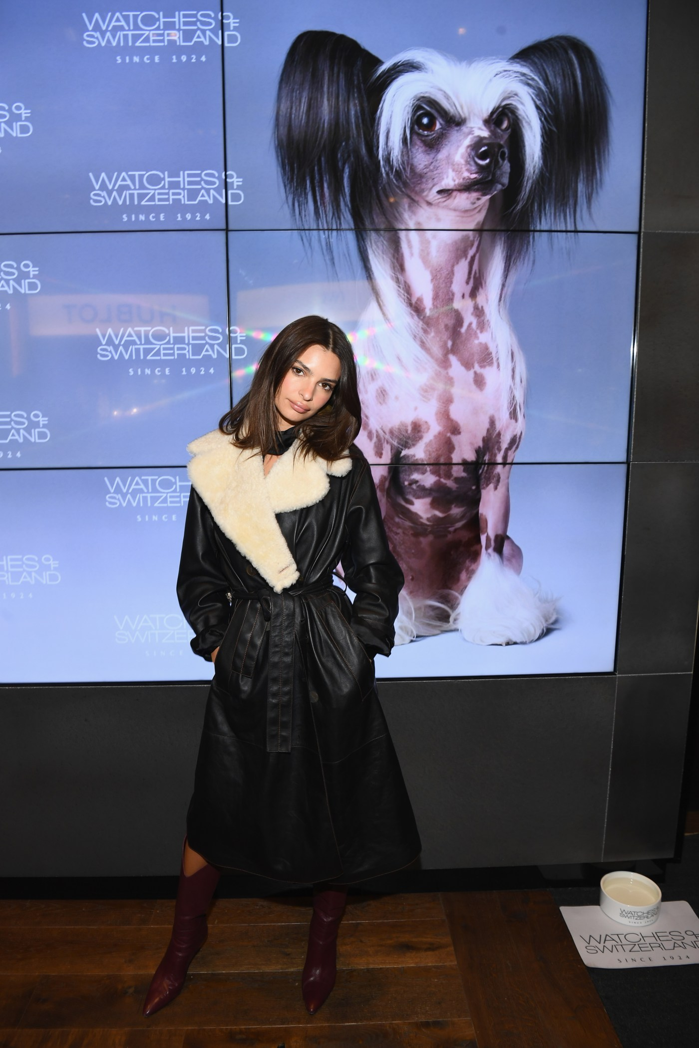 Emily Ratajkowski Watches Of Switzerland SoHo Launch Party