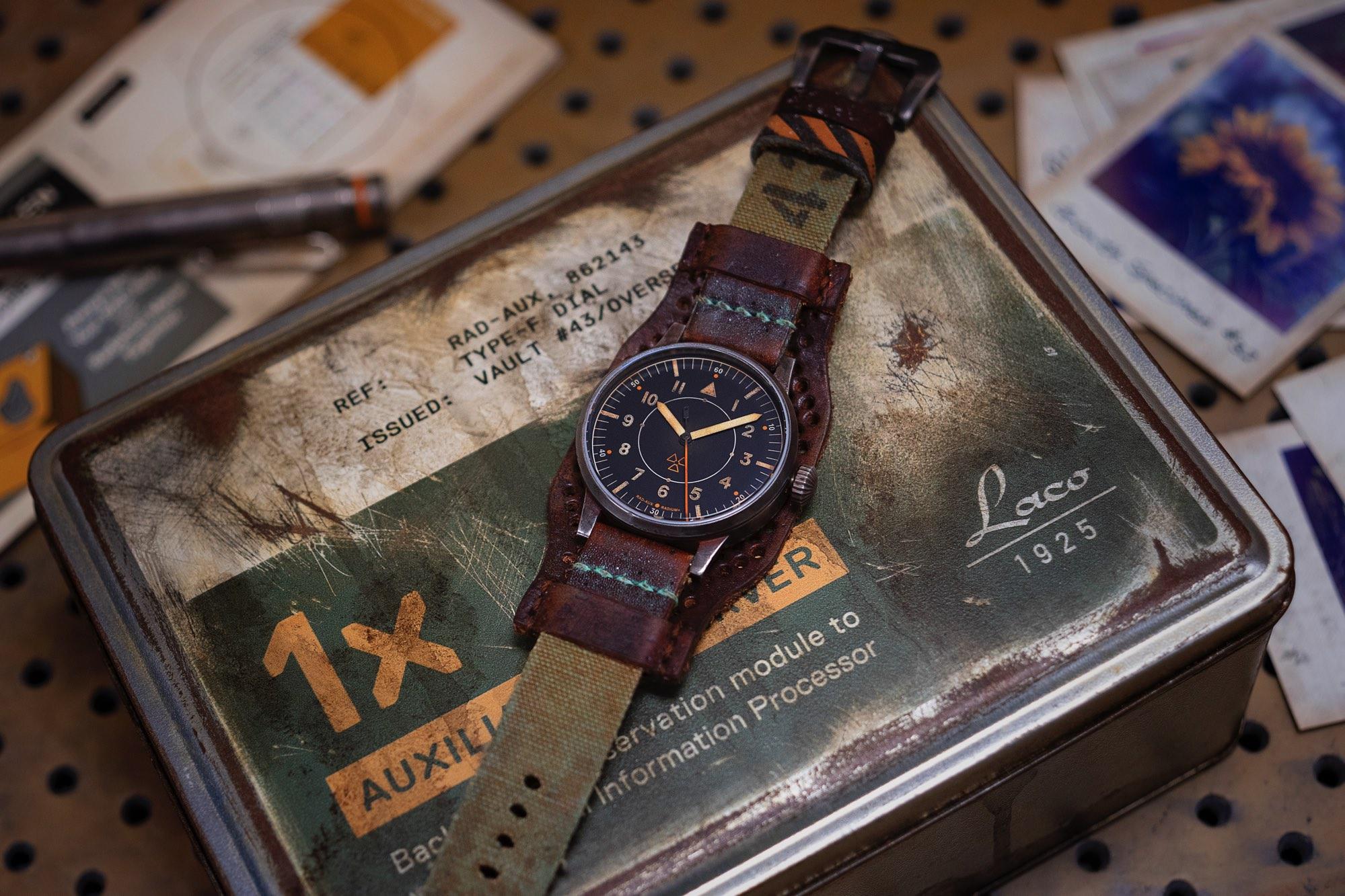 Laco RAD AUX Auxiliary Observer Weathered Tin Box Fallout