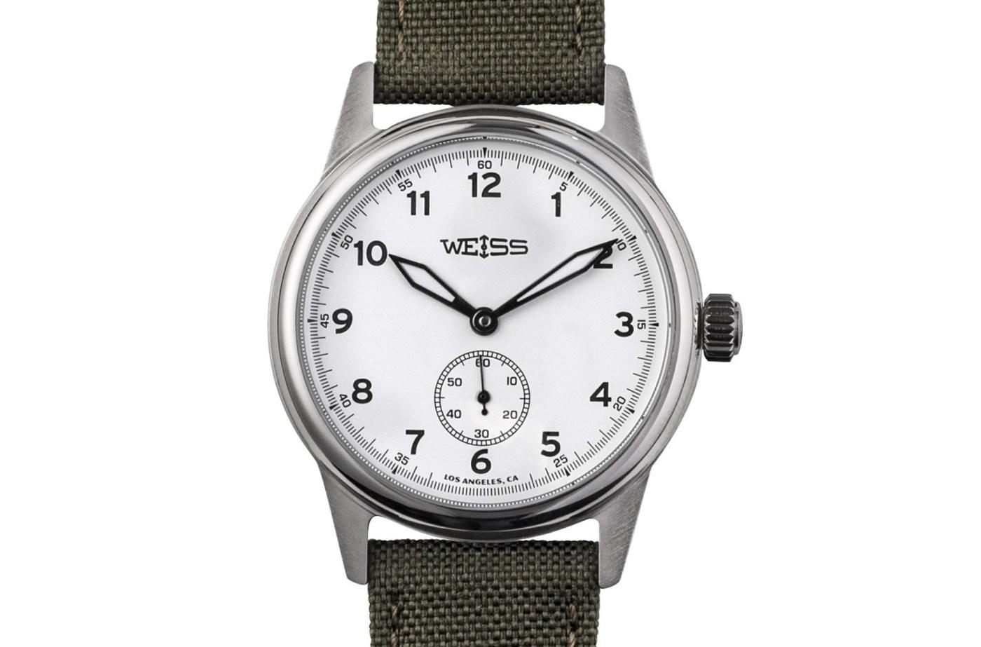 Weiss 38 mm Standard Issue Field Watch