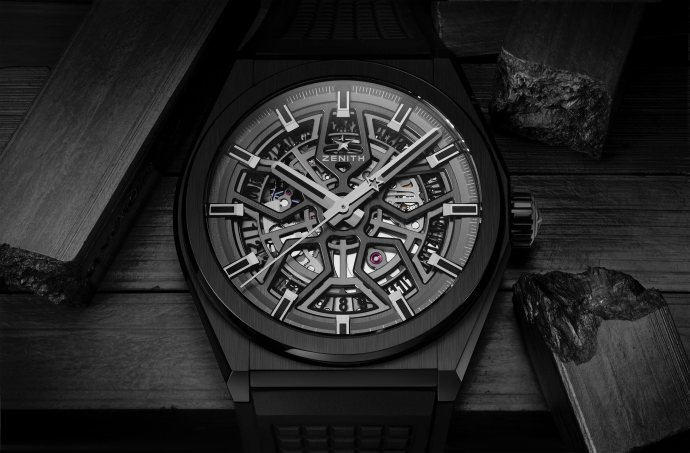 Zenith Defy Black Ceramic