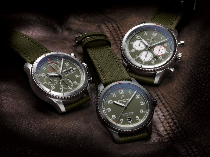 Breitling Aviator 8 Curtiss Warhawk Editions